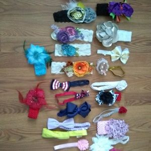 Other - Hairbands and bows